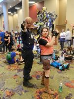 Phoenix Comicon 2014 Resident Evil 2 by Demon-Lord-Cosplay