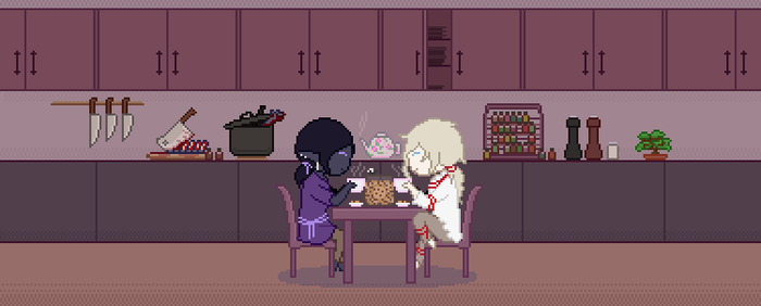 [AA] Ashes and Embers: Tea and Biscuits by dualscepters