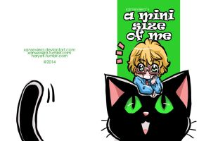 A mini size of me doujinshi cover by xanseviera