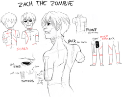 NEW OC ZOMBIE by EliciaElric