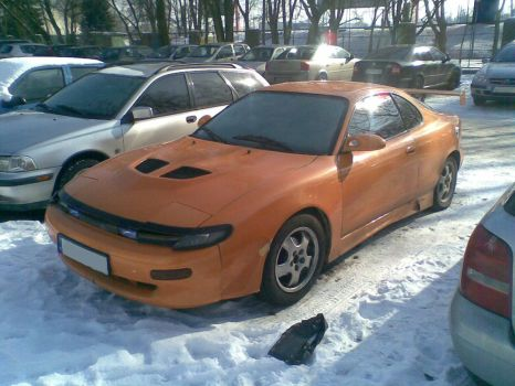 Toyota Celica T180 - tuned by Lew-GTR