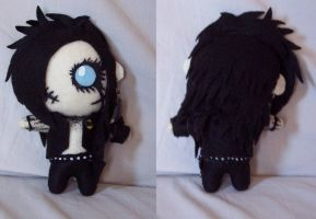 Andy Biersack plush doll by TatsuoMizushima