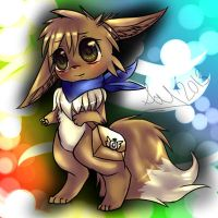 request :3 : Eevee by chibicutelucy