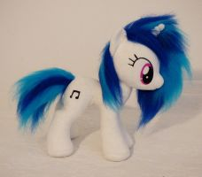 Vinyl Scratch DJ pon-3 small plushie comission by Epicrainbowcrafts