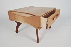 Coffee Table - drawer detail by TMFineFurniture