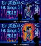 Top 10 Best Hit Songs of 2015 by TheButterfly