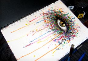 Graffiti Eye 2 by atahirART