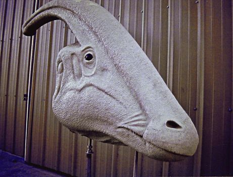 Parasaurolophus head Sculpt by Keith-Strasser