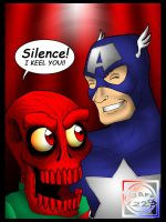 Captain America - I KEEL YOU by What-the-Gaff