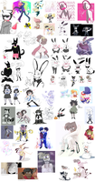 a lot of doodles part nine thousand and twenty fiv by stepswitcher