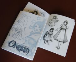 Sketchbook Oneiria by drawingum