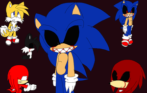 sonic exe nightmares by barbara-the-hedgecat