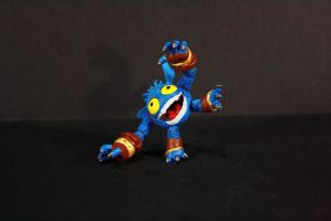 Articulated Skylanders Pop Fizz Custom Figure by kodykoala