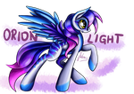 My new OC - Orion Light by Julunis14