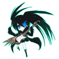 Miku from Black rock Shooter by Atelier-Dew