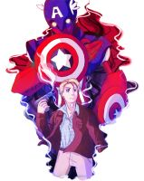 Persona User Steve Rogers by CrazyKuri-chan