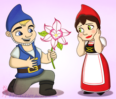 Gnomeo x Juliet by chachi411
