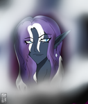 Nightterror Elusive [Drow Elf] by StageTechy1991