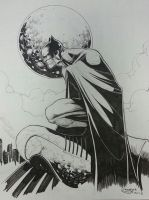batman inks by Sajad126