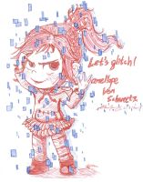 Vanellope: Let's glitch! by lokinpong