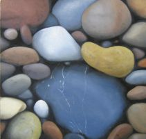 Untitled - Pebbles 1 by I-Am-Coma-White