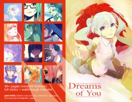 Dreams of You vocaloid fanbook - preview by Akimiya