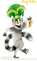 .:King Julian:. by LadyUndead