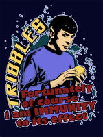 Spock and tribbl))) by Alexanya