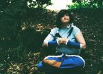 Korra Cosplay - trying to meditate by ImRose