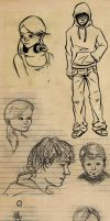 Sketches 17 by vuurvlam