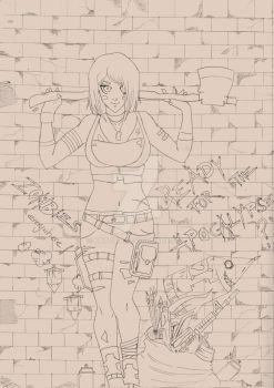 Ready for the apocalypse? - lines by katzuia