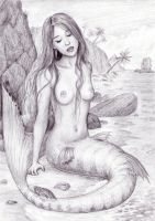 Song of the Mermaid by dashinvaine