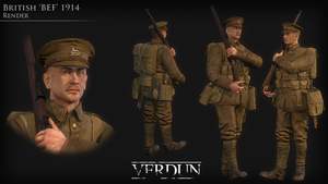 British Tommy - 1914 by Volcol