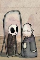 black mirror by RumourTheNoir