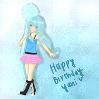 HAPPY LATE BIRTHDAY YANI by CandySakura