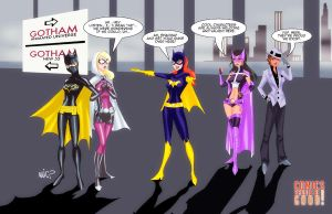 Gotham Girls by micQuestion