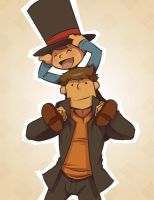 I want a piggyback, Professah! by zillabean
