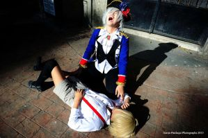 lil' Germany? and Prussia cosplay by TheTwistedWonderland