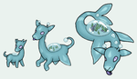 Water Starter Pokemon by StapledSlut