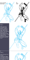 Quick Digital Inking Tutorial by Dualmask