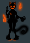 #8 Halloween Demon Auction by XxHaosiowyxX