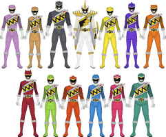 Additional Kyoryugers by Taiko554