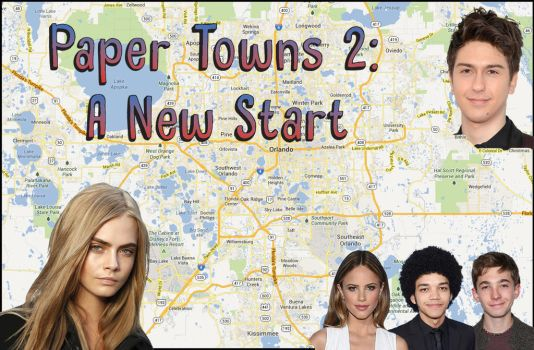 Paper Towns 2 Movie Poster Project by ArticWolfSpirit