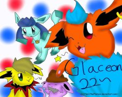 ID for Glaceon22 by FlaraTheFlareon