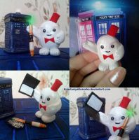 Little cute adipose in the Eleventh Doctor style by AnastasiyaKosenko