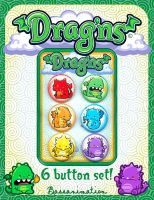 Drag'ns Button Set by bassanimation