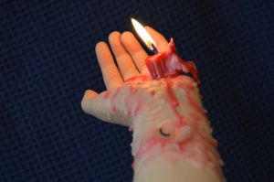 Drippy Candle 38 by RachgracehStock