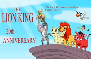 The Lion King Twenty Anniversary by kylgrv