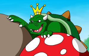 Sneaky King Koopa by BennytheBeast