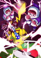 IC 30th Anniversary - Day 10 - VS Pikachu! by TamarinFrog